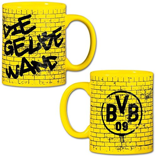Borussia Dortmund Tasse / Kaffeetasse / Kaffeepott / Mug - Gelbe Wand BVB 09