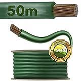 50m SHS Begrenzungskabel für Mähroboter Zubehör SET Begrenzungsdraht für Suchkabel/GARDENA / BOSCH/HUSQVARNA / WORX/HONDA / ROBOMOW/iMow