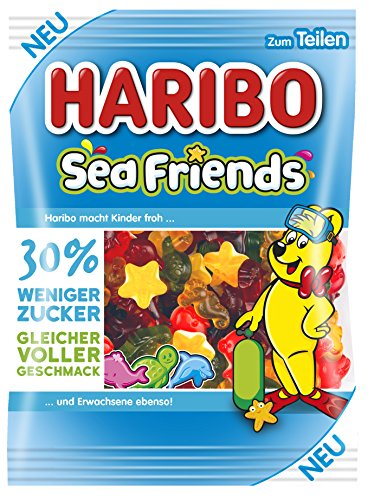 Haribo Sea Friends, 160 g Beutel