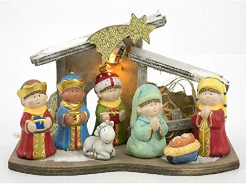 Gerimport Nacimiento Belén Navidad Infantil 15,5x26cm