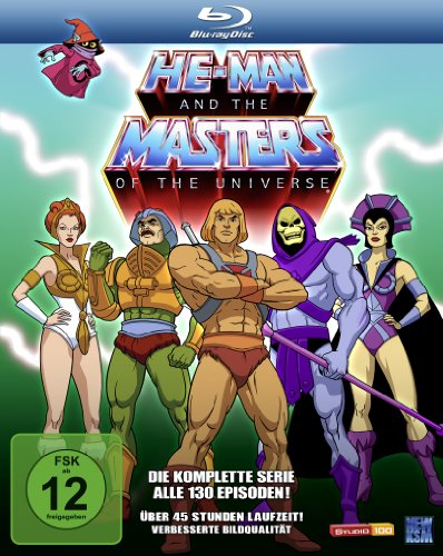 He-Man and the Masters of the Universe - Season 1 & 2 (2 Disc Set) [Blu-ray]