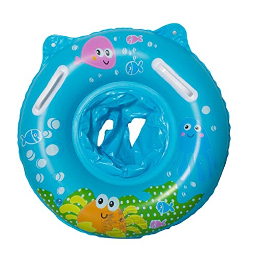 Beautylife66 Kids Swim Seat Ring Baby Inflatable Pool Floatation Boat Seat Test