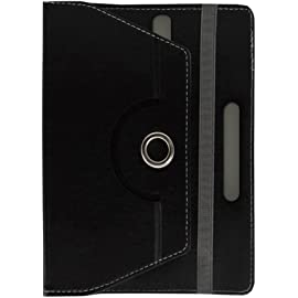 Fastway Designer Rotating Leather Flip Case for Xiaomi Mi Pad 7.9 Android Tablet Black