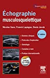 Echographie musculosquelettique (French Edition)