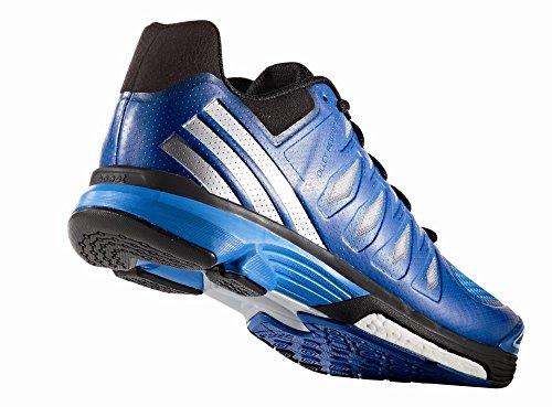 adidas Volley Response 2 Boost, Chaussures de Volleyball Homme Bleu - Azul (Azuimp / Plamat / Eqtazu)