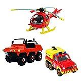 Feuerwehrmann-Sam-Mini-Die-Cast-Serie-Set-Hydrus-Venus-Helicopter