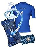 iQ-Company Herren Schnorchelset IQ UV 300 Snorkeling Set Men By Tusa