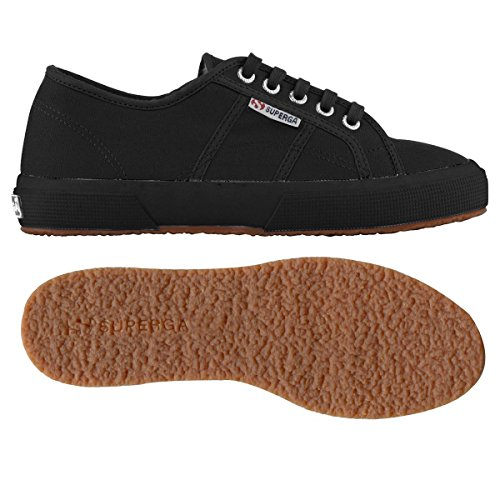 Superga 2750- Plus Cobinu, Baskets Basses femme FULL BLACK