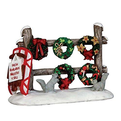 Weihnachten Kränzen 4Verkauf Lemax Christmas Village Zubehör -
