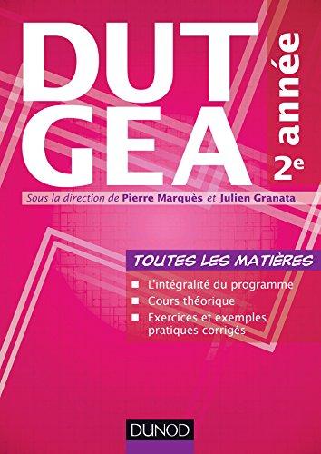 DUT GEA 2e année - Toutes les matières par Pierre Marquès