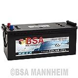 BSA Solar GEL Batterie 150Ah 12V Gelakku Solarbatterie Versorgungsbatterie - 6 Grössen (150Ah)