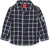 s.Oliver Baby-Jungen Hemd 65.708.21.6933, Blau (Indigoblau Check 57N3), 80