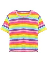 099b8575b9959f TUDUZ T-Shirt Damen Sommer Kurzarm O-Ausschnitt Rose Drucken Weste Tops  Bluse