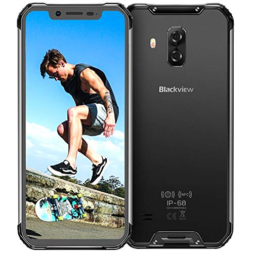 Rugged Smartphone 4G, Blackview® BV9600, Helio P70 Android 9.0 Cellulare Antiurto, 6.21
