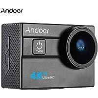 "Andoer Ultra HD 2.0"" 4K 25FPS 1080P 60FPS WiFi Cámara Deportiva 173 Grados Amplia Lente Impermeable 30M"