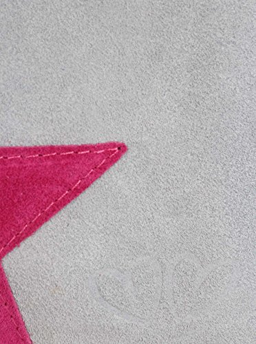 Zwillingsherz, Borsa a tracolla donna Hellgrau/Pink