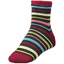 Yaktrax Womens Cozy Cabin Socks Heather Multicolor