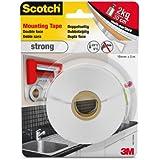 Scotch 40011950 - Cinta adhesiva de doble cara ( 19 mm x 5 m), color blanco