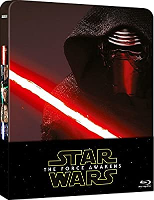 Star Wars 7: The Force Awakens 2016-UK Exclusive Limited Edition Steelbook Blu-ray + Bonus 2 Disks Region free