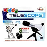 #1: ADITYA INFO™ Kiddy Telescope with 3 Magnification Lens & Tripod Kids Toys Educational Science