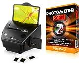 SOMIKON Dia/Photo Scanner de négatifs & SD 510avec capteur 5,1Mpx pour...