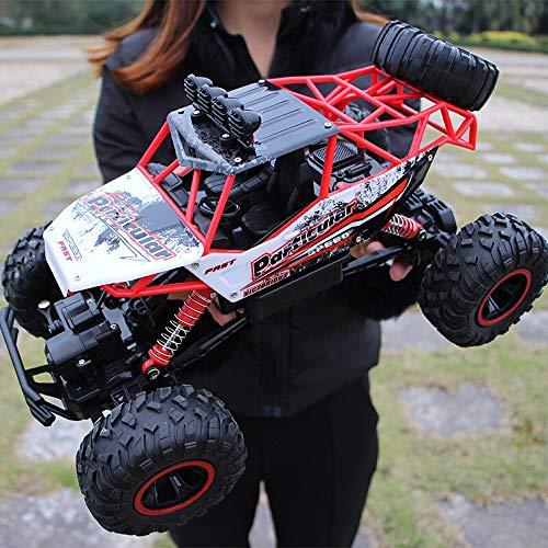 Kikioo 1/12 High Speed   4WD Rock Crawler ferngesteuertes Auto, amphibische wasserdichte Stunt-Fahrzeug-Doppelmotoren fahren große Fuß-Auto 2,4 GHz Straße ferngesteuerten LKW, Geschenke für Kinder Jun