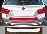 passgenau für BMW 3er E91 Touring Lackschutzfolie Ladekantenschutz transparent