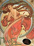 Mucha - Livre avec 8 posters détachables - Art nouveau