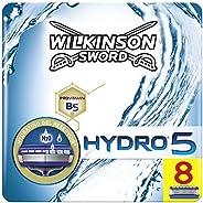 Wilkinson Sword Hydro5 Rakblad för Män Paket med 8