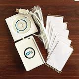 NFC YARONG ACR122U MIFARE Classic® 13,56 mhz RFID inteligentes puerto USB lector + 5 + SDK gratis Tarjeta RFID