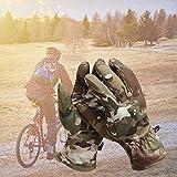 Jannyshop Herbst und Winter Outdoor Warme Handschuhe Ski Handschuhe Radfahren Handschuhe Outdoor Handschuhe Winter Sport Handschuhe Rutschfeste Winddichte Warme Vollfinger Camouflage