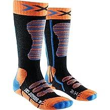 X-Socks Niños skistrumpf Junior, Infantil, SKI Junior, Orange/Turquoise