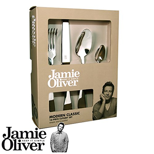 Jamie Oliver Modern Classic Cutlery Set - 16 pieces