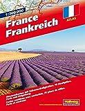 Frankreich Strassenatlas: 1:200 000, Strassenkarten mit Sehenswürdigkeiten, Stadtpläne, Paris und Umgebung (Hallwag Atlanten) -