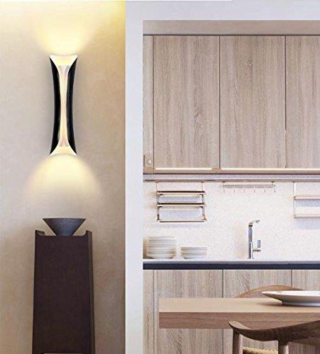 Applique Murale Murale - Moderne Minimaliste Creative TV Mur Lumière Allée Escalier Chambre Tête de Lit Mur Lampe Allée Couloir Mur Lumières (Couleur : B)