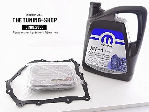 Filtre à huile kit At40Fk-177et 5L ATF + 4pour Chrysler Voyager 4Speed Transmission automatique