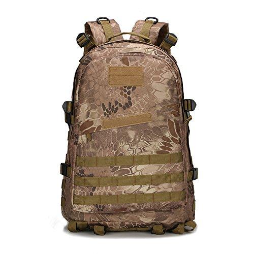 Z&N Military Pack Tarnung taktische Tasche Schultertasche wasserdichte Oxford Bergsteigen Tasche Outdoor Rucksack Sport Rucksack Camping Rucksack Wanderrucksack Multifunktions Großraum Rucksack A