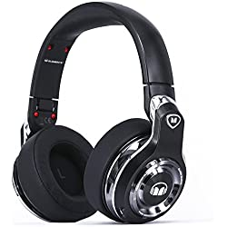 Monster Elements Casque arceau circum-aural sans fil Bluetooth Ardoise Noir