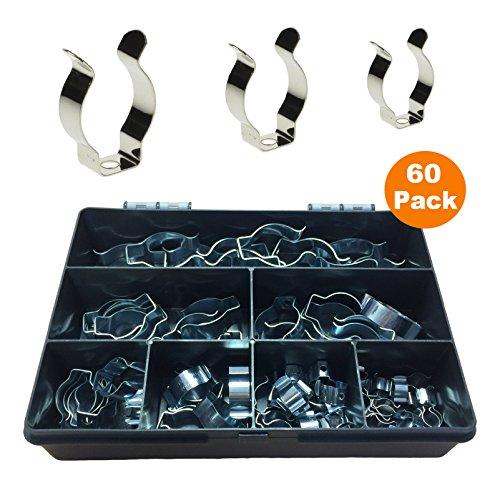 Preisvergleich Produktbild 60 x Schmale Schwere Werkzeug Basiert Clips / Heavy Duty Lagerung Hangers