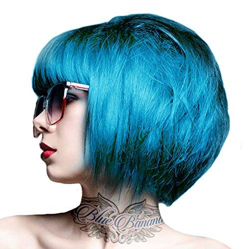 Crazy Color Coloration Pour Cheveux Semi-Permanente 100ml (Bleu Bubblegum)