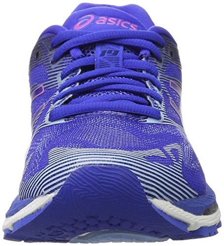 Asics Damen Gel-Nimbus 19 Laufschuhe, Blau (Blue Purple / Violet / Airy Blue)