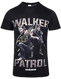 Official T Shirt THE WALKING DEAD Rick/Daryl WALKER PATROL All Sizes