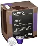 Amazon-Marke: Solimo Nespresso kompatible Lungo Kapseln- UTZ zertifiziert 100 Kapseln (2 x 50)