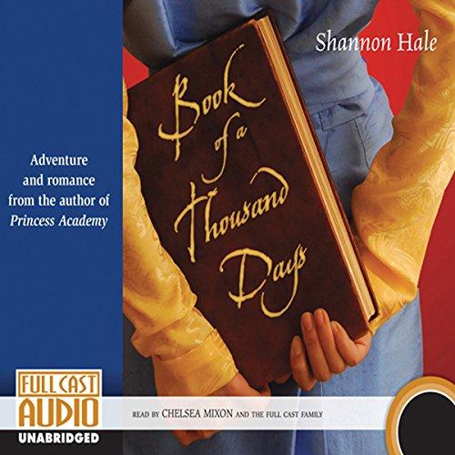 Book of a Thousand Days  Audiolibri