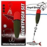 Angel-Berger Hecht Posenset Köderfischset Köderfischmontage (15g)