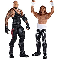 SHAWN MICHAELS & UNDERTAKER - WWE BATTLE PACKS 33 WWE GIOCATTOLO WRESTLING ACTION FIGURE 2-PACK