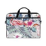 Best Kind Macbook Cases - Laptop Case, Tropical Flamingo Leaf Floral Personalized 3D Review