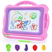 SGILE Large Magnetic Drawing Board Toy - 42×33.5 cm Scribble Board Magna Doodles Painting Pad