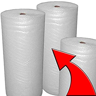1000mm Bundle of Small Bubble Wrap Long Wide Roll UK Made - STAR SUPPLIES®