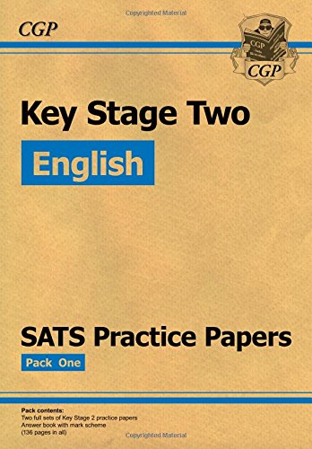 KS2 English SATs Practice Papers: Pack 1 (for the New Curriculum): Set 1 Cover Image